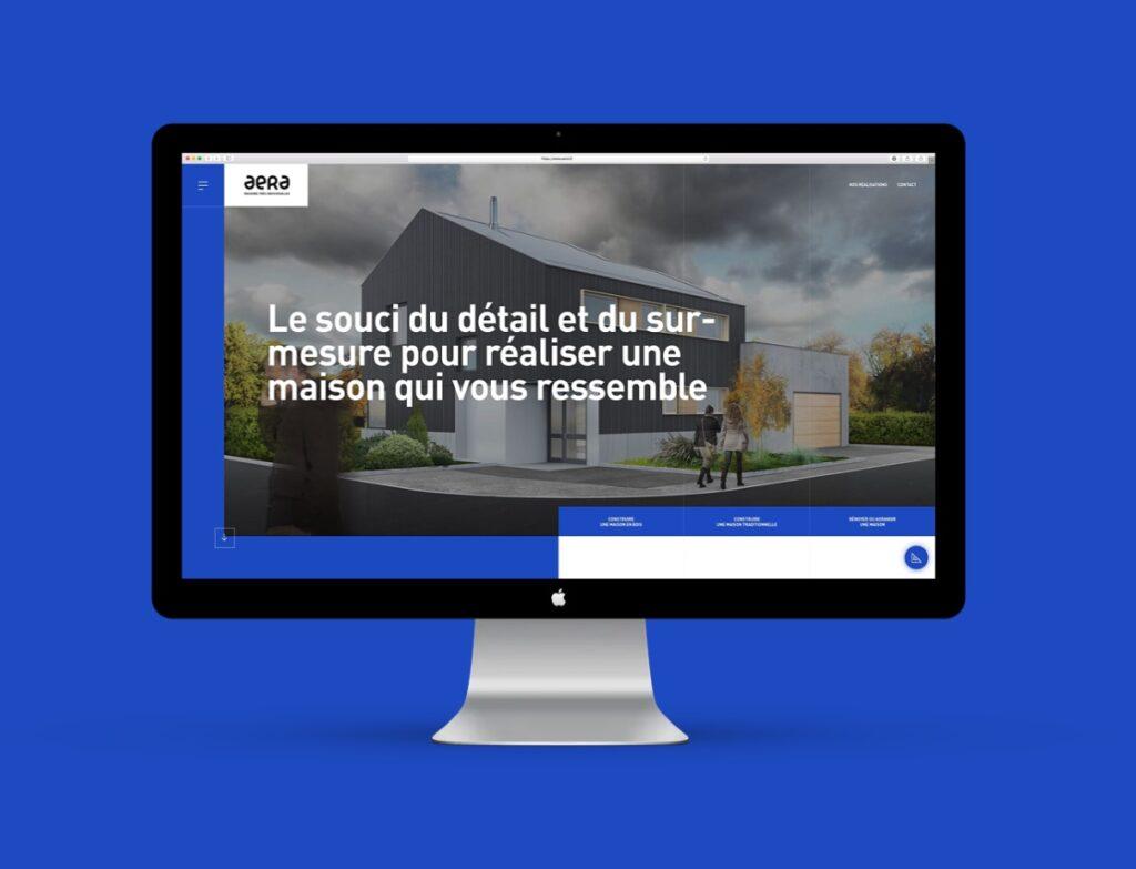 Site web à Mulhouse : le constructeur Aera